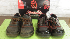 シモン(Simon)安全靴・作業靴SL11-R黒/赤おっさんの知恵袋
