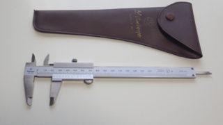 ミツトヨ(Mitutoyo)のM型標準ノギスN150mmは日本のモノづくりのスタンダード