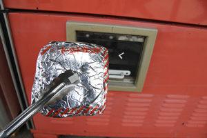 太平洋工業株式会社の本格派手作りトーストサンドホットサンド 中古タイヤ市場 相模原店自販機コーナー