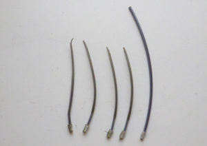 草刈機・刈払機用チタニウムナイロンコード差込み式3mmを電工用圧着ペンチで自作する方法 使用感 比較